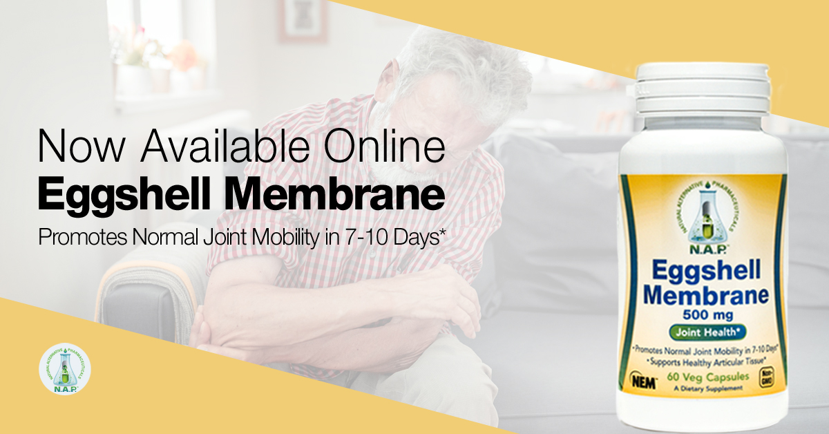 Eggshell membrane supplement by Natural Alternative Pharmaceuticals.