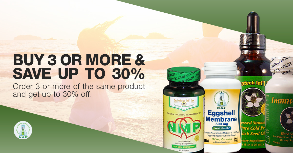 Save more when ordering more than 3 bottles of the same supplement. It includes black seed oil, natural maximum performance, and eggshell membrane products.