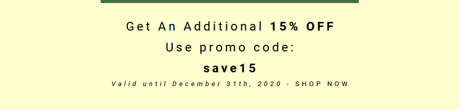 Save 15% promotion at Natural Alternative Pharma.